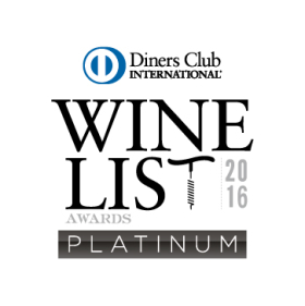 Dinners Club Wine List